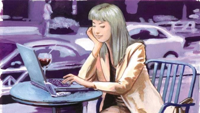 Illustration for Neo-Tokyo magazine