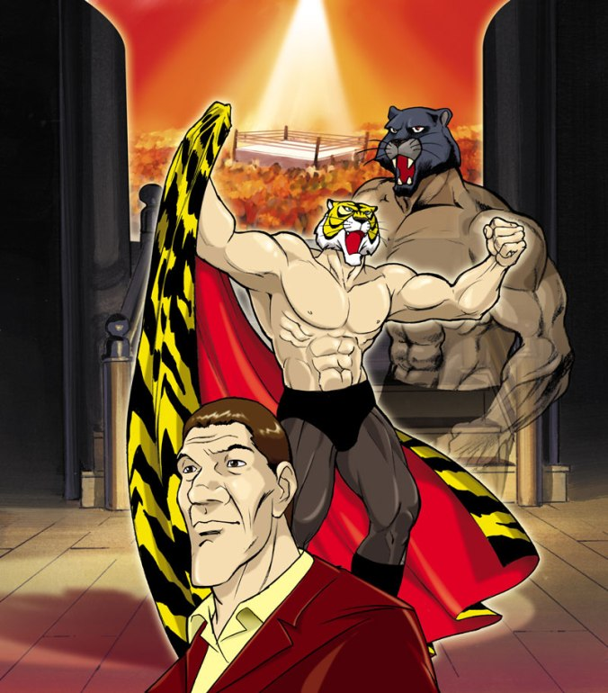Tiger Mask, DVD cover for Mondo TV