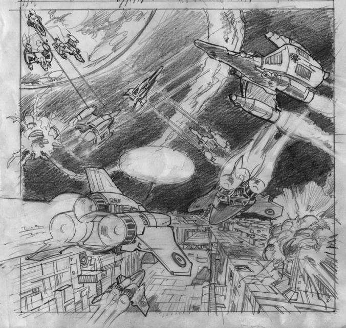 Disegno di Luciano Costarelli