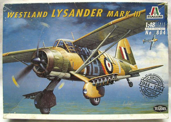 Westland Lysander Mark III Italeri