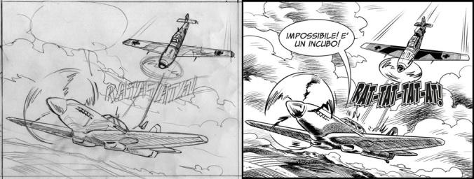 Messerschmitt vs Spitfire Luciano Costarelli