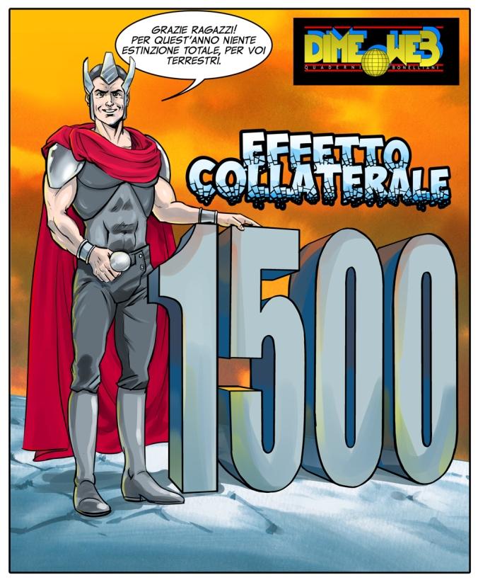 1500 visite Effetto Collaterale