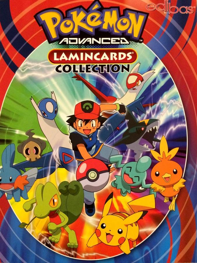 Raccoglitore Lamincards Pokemon