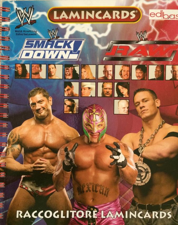 Lamincard WWE
