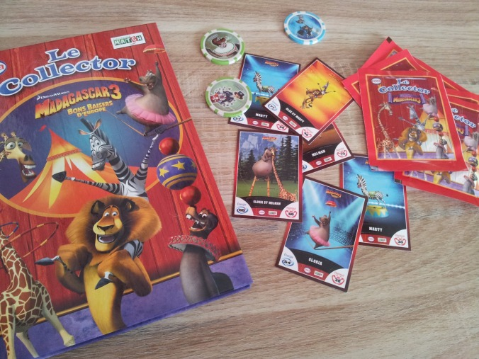 Collector Madagascar 3 con Stickers-card e Chips - Luciano Costarelli