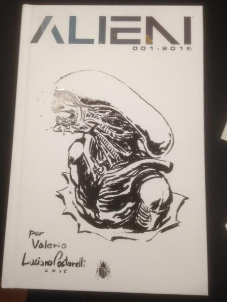 Alieni - White Cover Luciano Costarelli