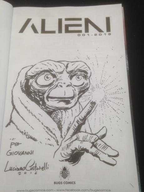 E.T.- Disegno per Alieni di Luciano Costarelli