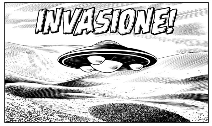 Luciano Costarelli Bugs Comics