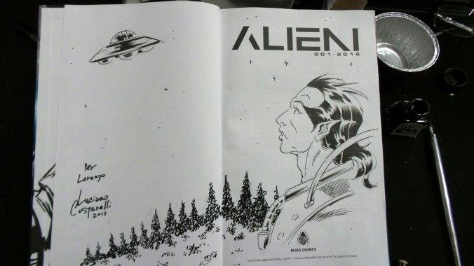 Alieni Bugs Comics, fumetto di Luciano Costarelli