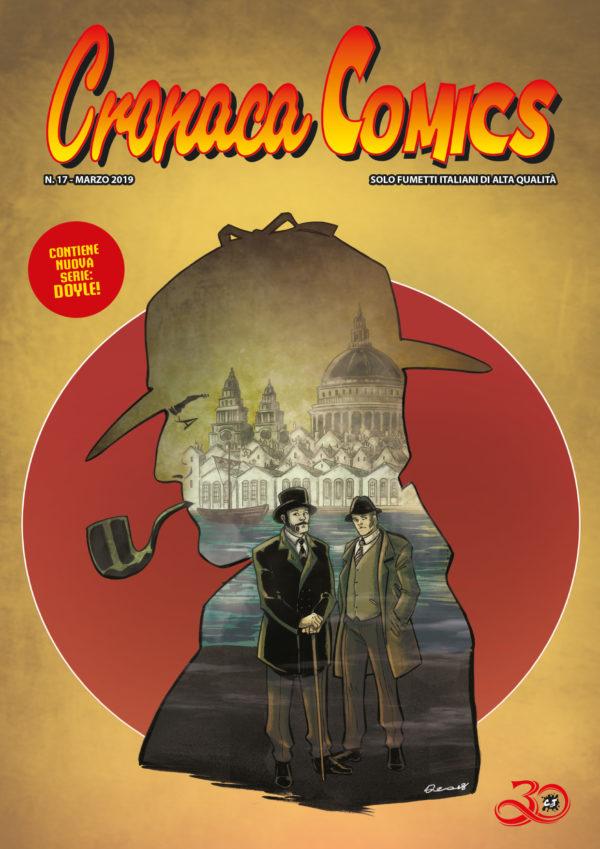 Copertina Cronaca Comics #3