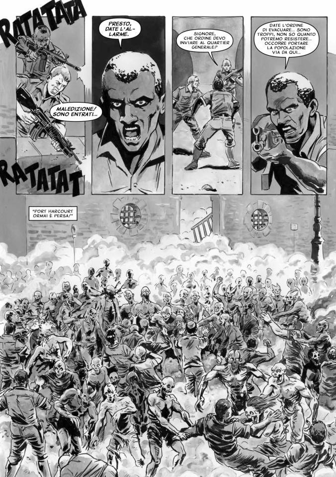 Zombie in Planet Dead 3 di Luciano Costarelli